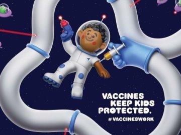Astronaut, UNICEF, RPA, Print, 2019